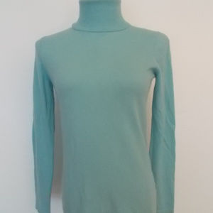 PENDLETON Blue Cashmere Turtleneck Sweater Sz S